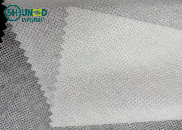 Anti UV PP Spunbond Non Woven Fabric Waterproof White Color For Eco Bags