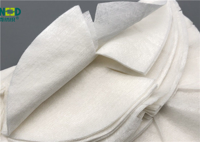Skin Care Nourishing Bamboo Fiber Fabric Non Woven Custom Size Tear Resistant